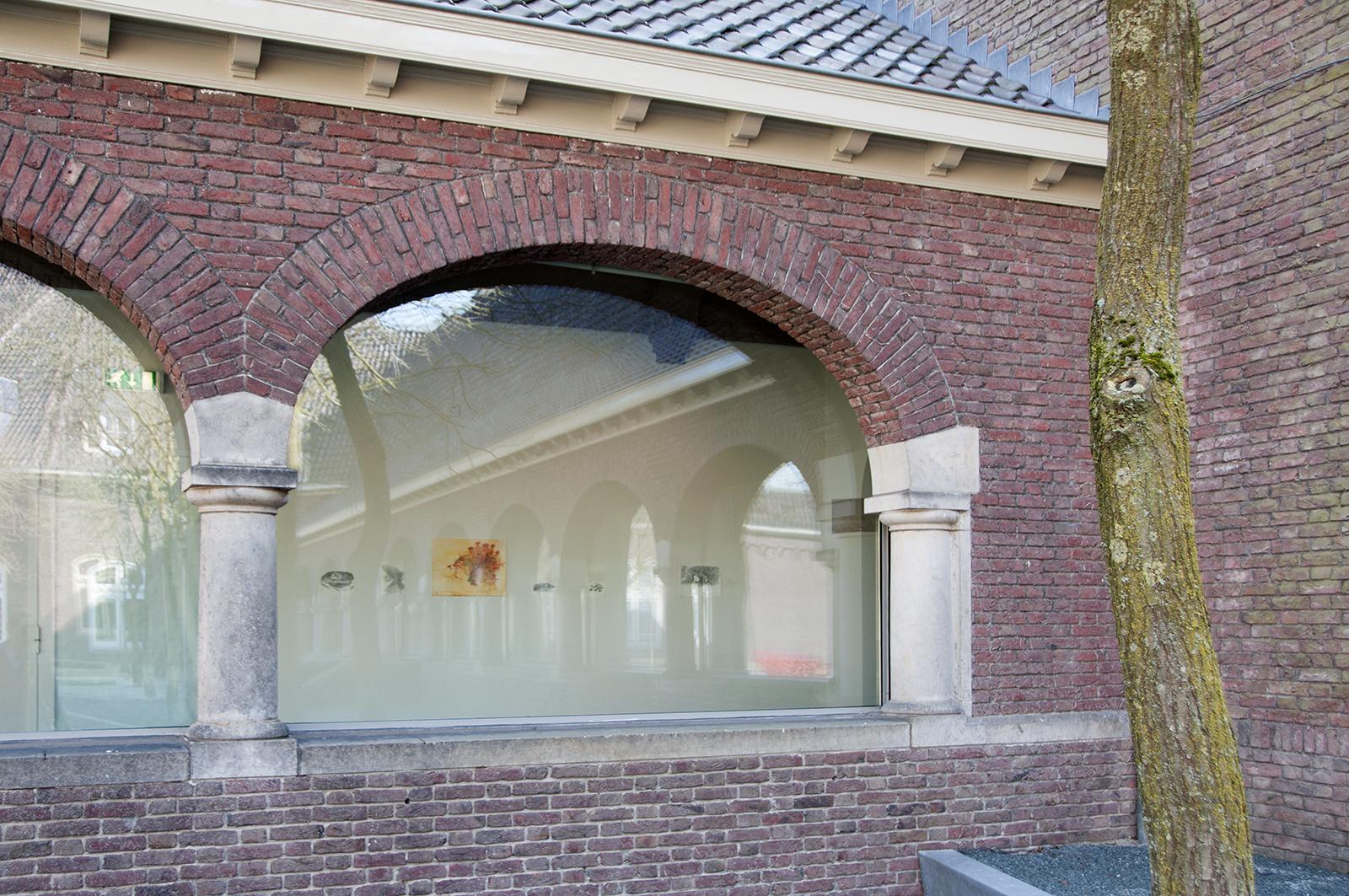 Buitenaanzicht Rijksmuseum Twenthe, Emmy Bergsma