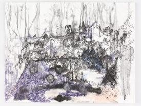 Shifting Landscapes – onderwegtekening Bialowieza